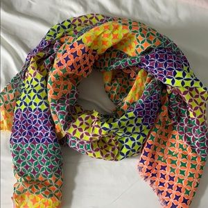 Juicy Couture colorful scarf.